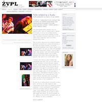 ŽVPL Mockup izpisa članka