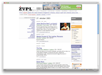 ŽVPL-ov HTML izpis dogodkov