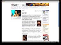 ŽVPL-ov XHTML izpis članka